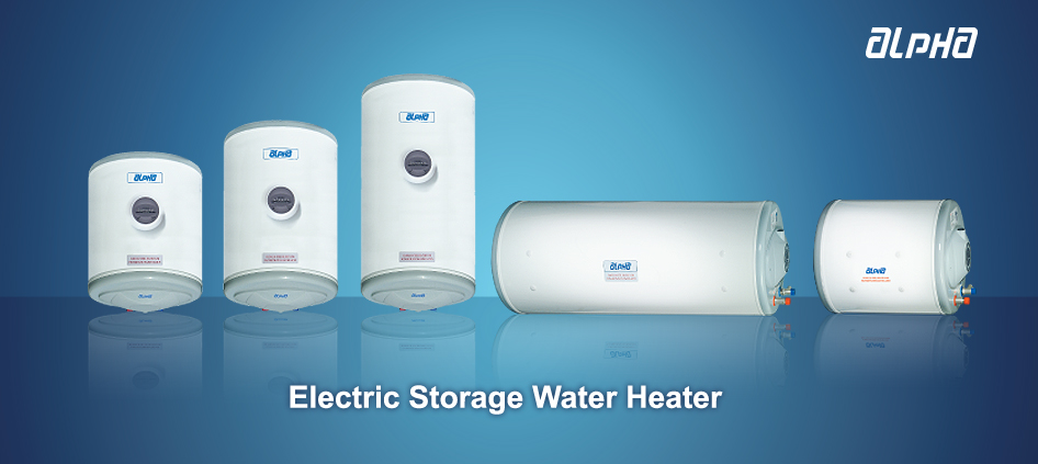 Now you can enjoy hot water at every tap of your home for bath cooking or washing. Alpha Electric Storage Water Heater is specially designed to supply and ... & Alpha - Bathabulous